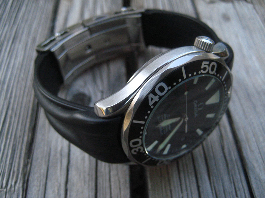 Omega Seamaster 2254 50 Rubber Strap Omega Strap On A 2254
