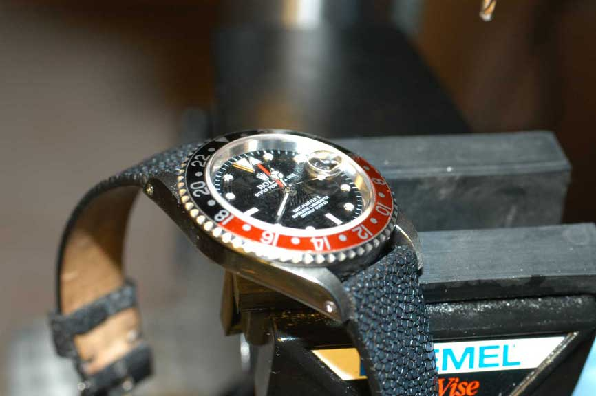 How To Drill Lug Holes - Watch Repair & Upgrade - RWG